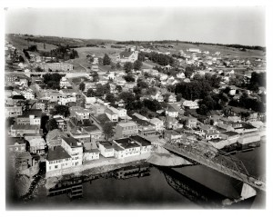 Saint-Georges in the mid 20th century